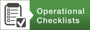operational checklist